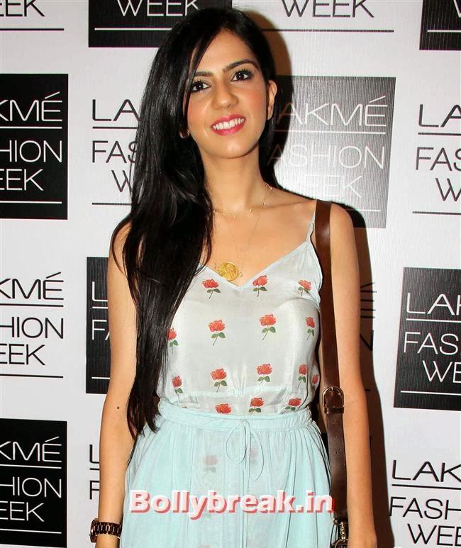 Nishka Lulla, Bollywood Actresses at Lakme Fashion Week 2014