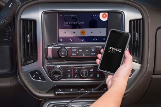 GMC Upgrades Android Auto Availability