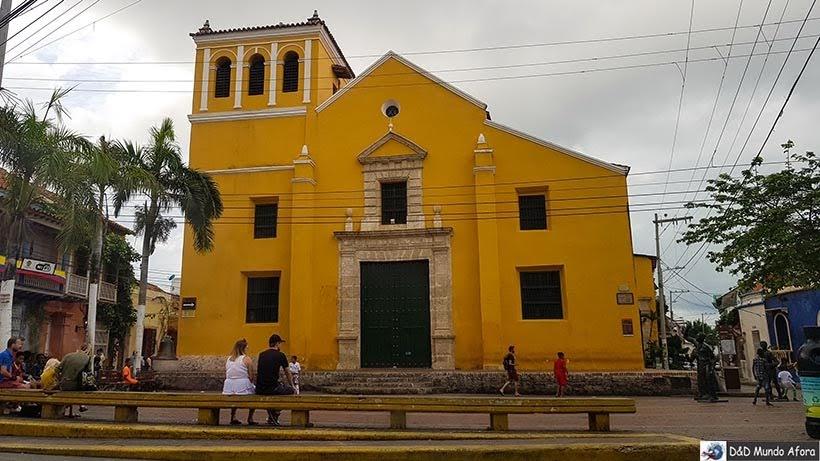 Igreja de la Trinidad - O que fazer em Cartagena, Colômbia