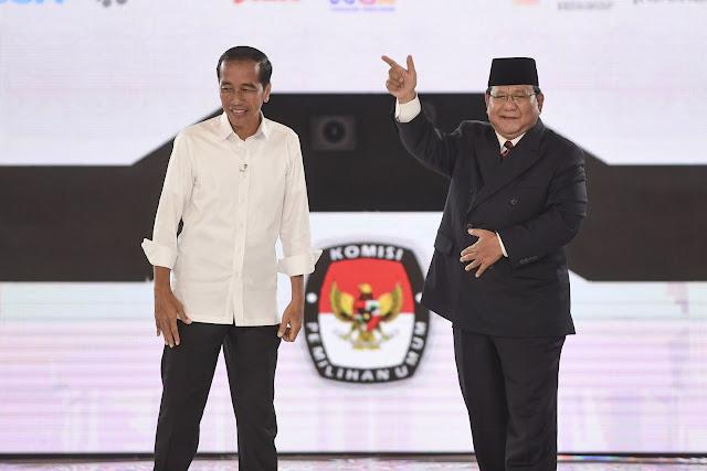 Survei NCID: Prabowo Libas Jokowi, Suara Selisih 18,2 Persen