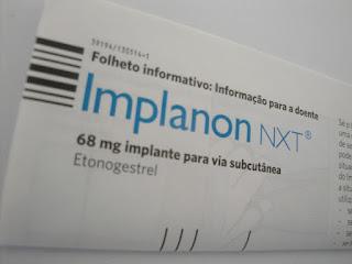 Se for iniciar o uso implante hormonal pela primeira vez?