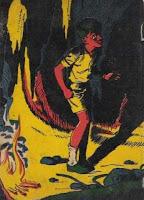O saci. Monteiro Lobato. Editora Brasiliense. Augustus (Augusto Mendes da Silva). Contracapa de Livro. Década de 1950. Década de 1960.