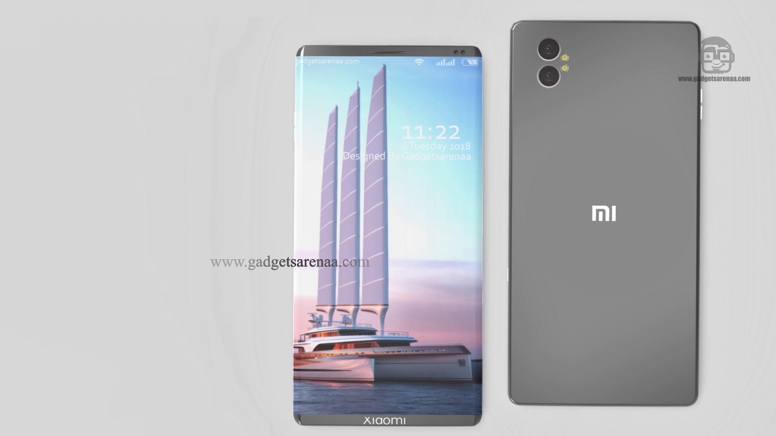 Xiaomi Mi Note Edge New Metalic Design - 2018 - Gadgets Arena