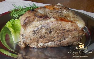 Preparare friptura de porc inabusita-etapa 9