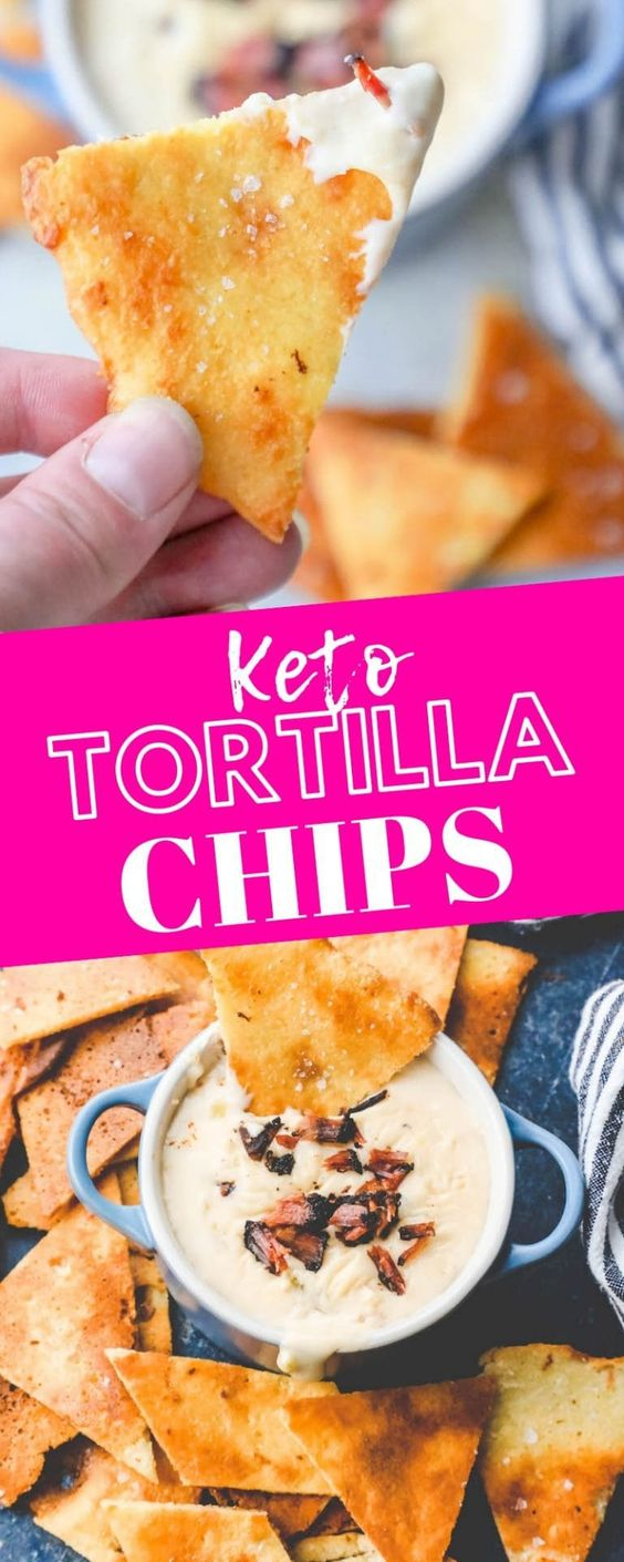 EASY KETO TORTILLA CHIPS RECIPE