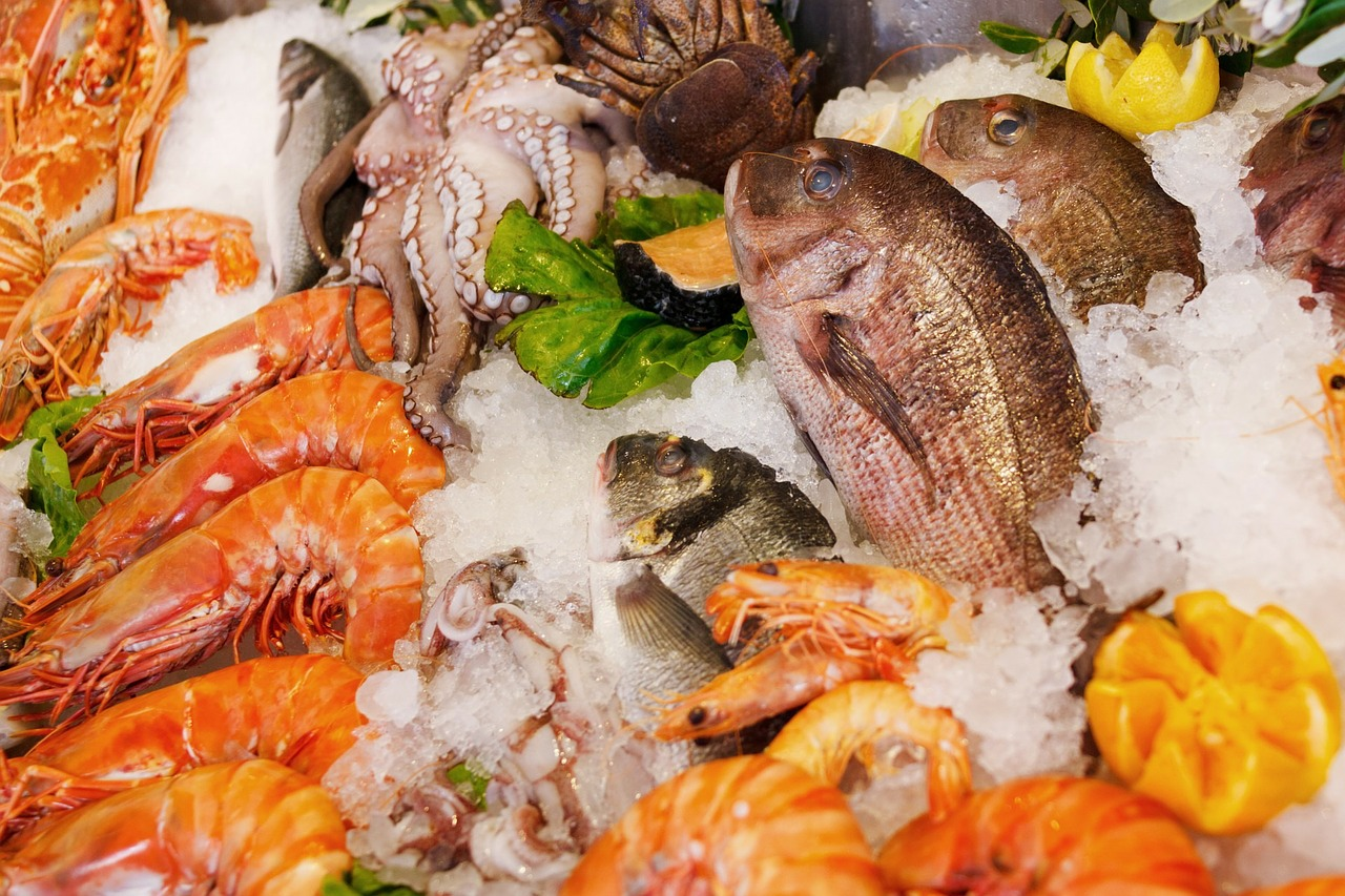 Health Benefits Of Seafood by Mr Great Fitness