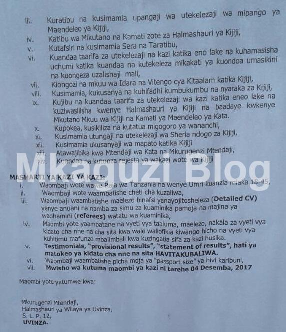 Jobs in Tanzania :: Tanzania Jobs :: Latest Jobs in Tanzania