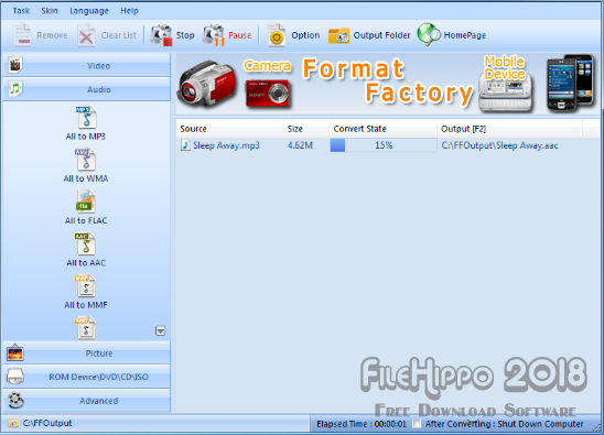Format Factory 2018 Free Download
