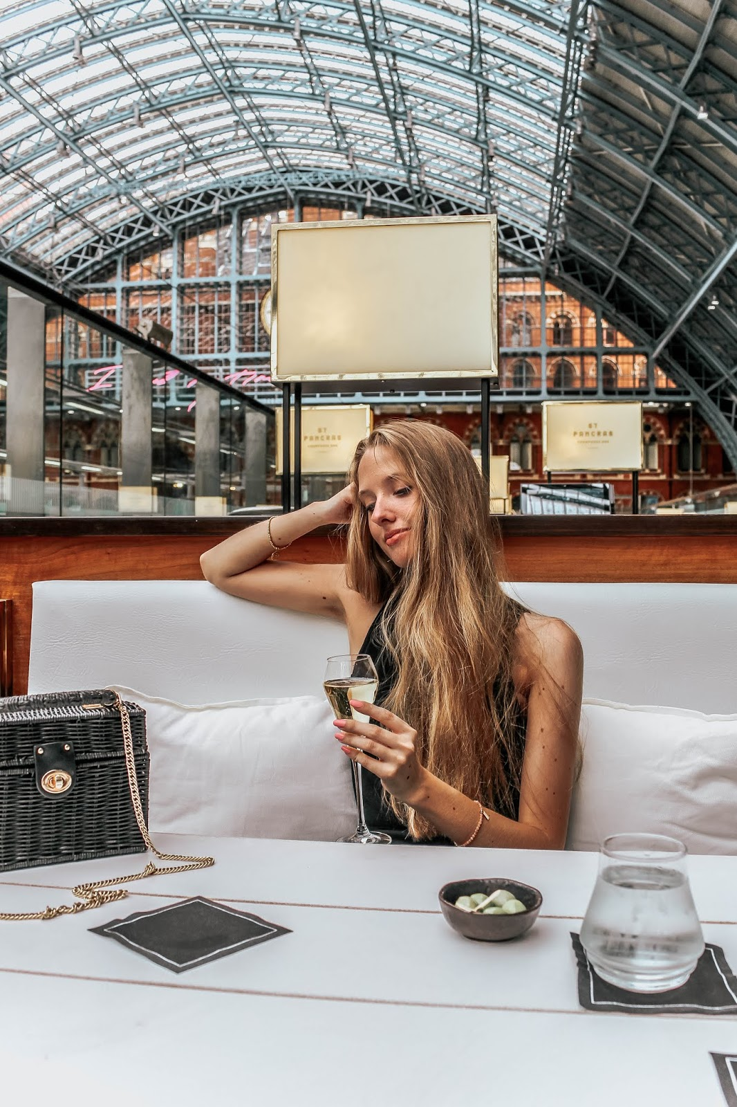 St Pancras Champagne Bar by Searcys Lifestyle Blog Review