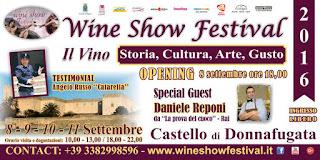 VINO IN SICILIA: AL CASTELLO DI DONNAFUGATA LA 2° EDIZIONE DEL WINE SHOW FESTIVAL