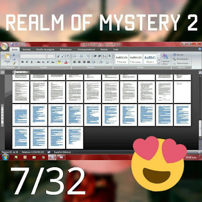 Progreso de Realm Of Mystery 2 | 29/Abril/2017