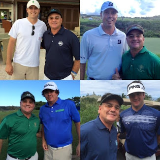 GOLF GREATS IN HAWAII!