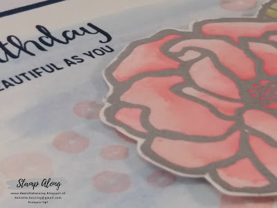 Stampin'Up! Beautiful day, watercoloring