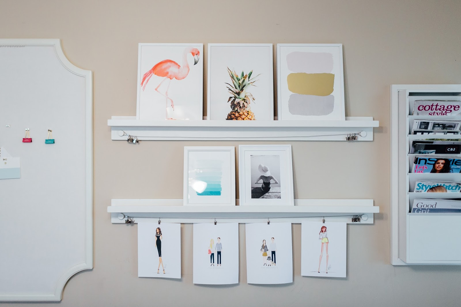 Cute Shelf Decor Items by lifestyle blogger Laura of Walking in Memphis in High Heels