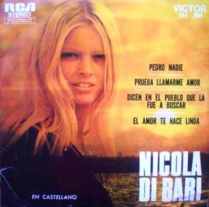 La Rocola de Papá: Discografía en Español de Nicola Di Bari