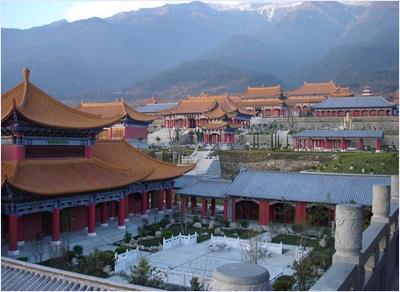 วัดฉงเซิ่ง (Chongsheng Temple)
