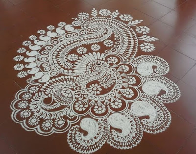 Happy Pongal 2017 Rangoli