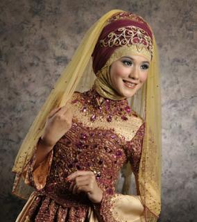 Model Jilbab Modern untuk Kebaya