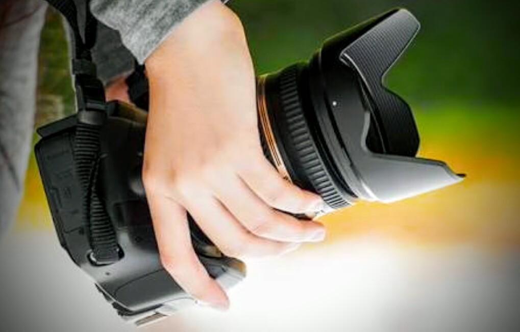 Kerja Usaha Tips Teknik Memegang Kamera Dslr Tidak Blur Pegang