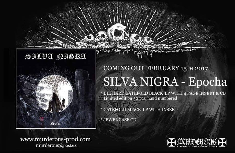 Silva Nigra - Epocha LP and jewel CD release