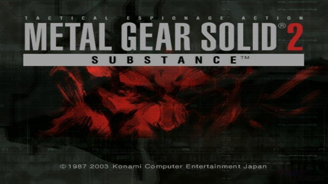 Download Metal Gear Solid 2 Substance PC Games