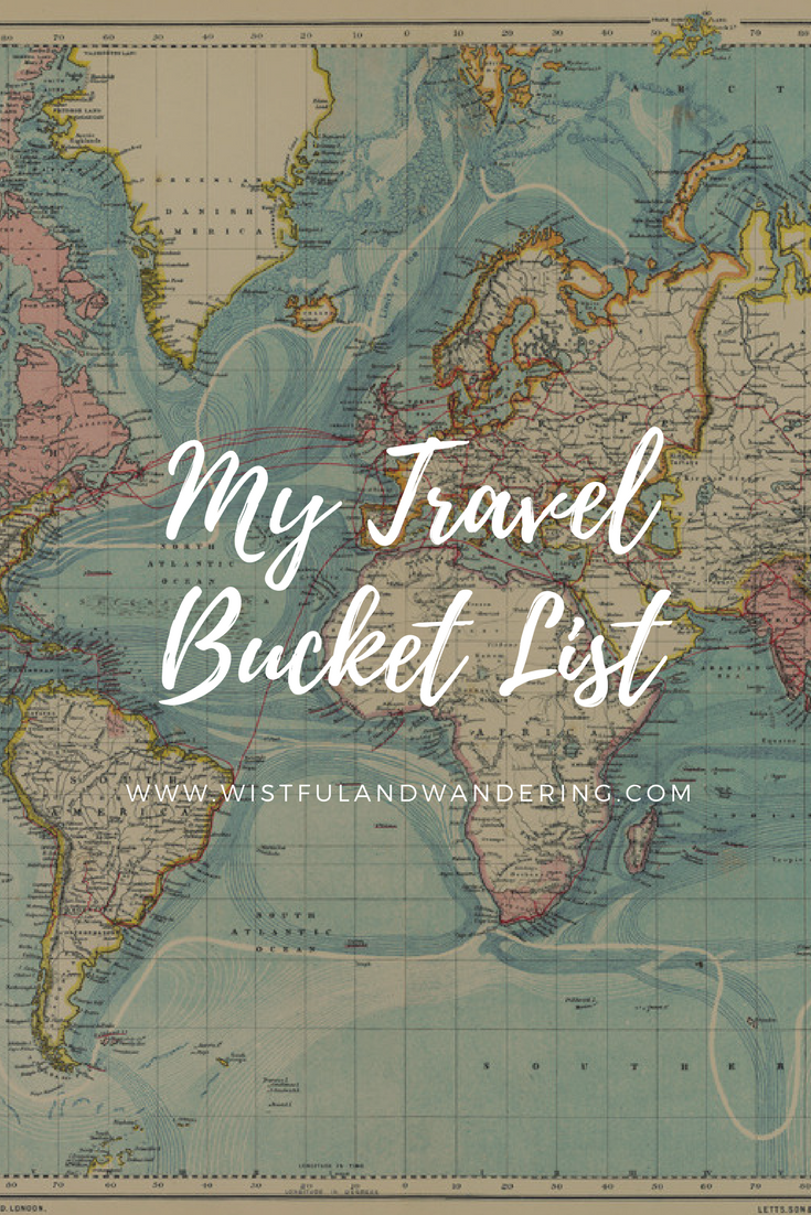 My Travel Bucket List: Wistful + Wandering