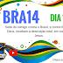 DIA 13 BRA14 Sede do inimigo contra o Brasil, e contra filhos de Deus, recebam a destruição total, em nome de Jesus.