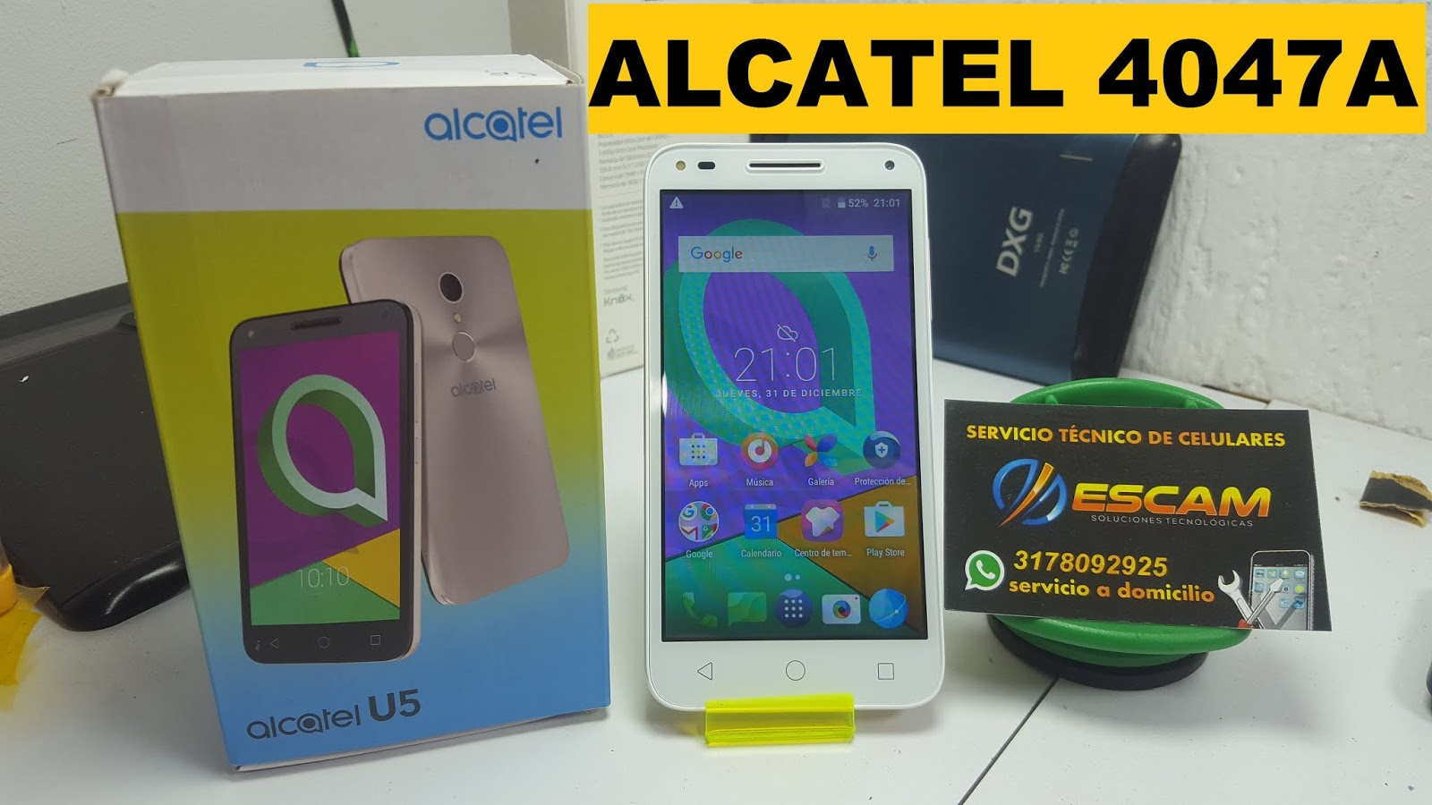 Revivir y/o Actualizar ALCATEL 4047A (Rom / Sp Flash Tool / Firmware