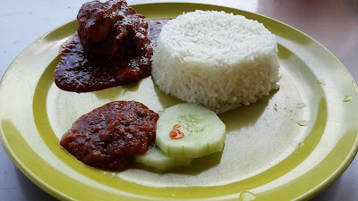 Ayam Penyek Kampung ayer Brunai Darussalam