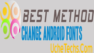 change font style in android phone