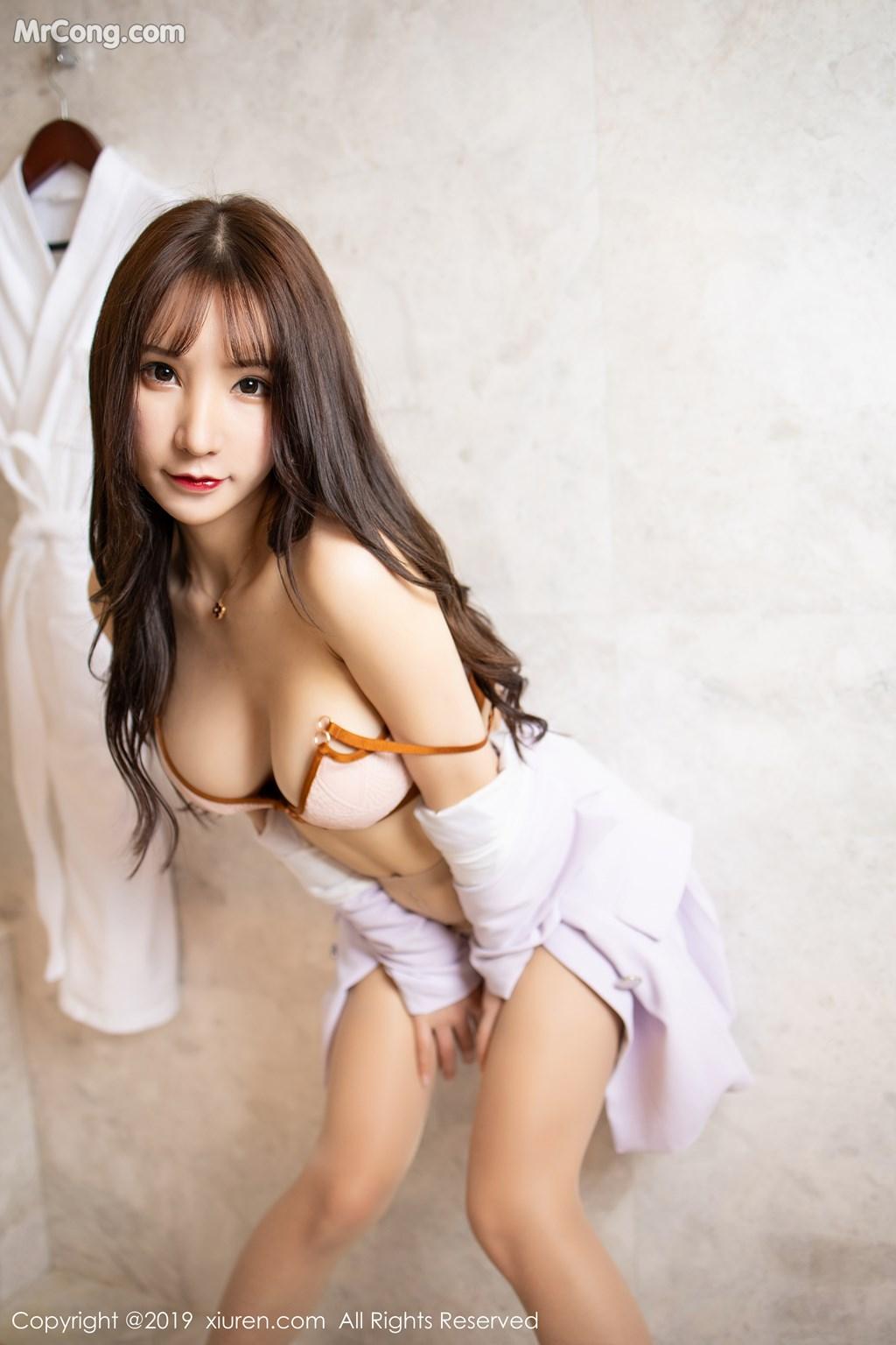 Image XIUREN-No.1620-Zhou-Yuxi-Sandy-MrCong.com-005 in post XIUREN No.1620: Zhou Yuxi (周于希Sandy) (65 ảnh)