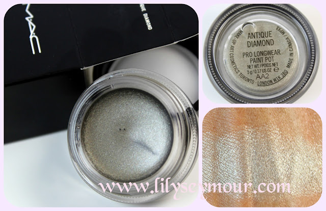 Antiqued Diamond Pro-LongWear Paintpot by Mac