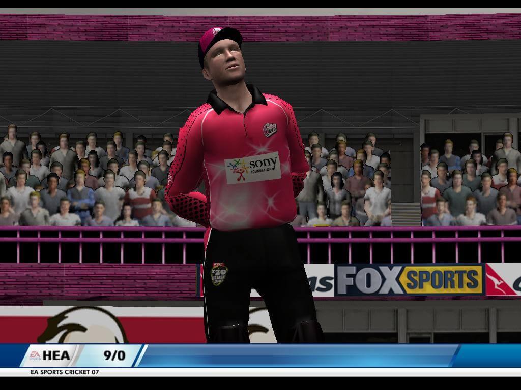 Big Bash League Mini-Patch EA Cricket 07 Patch