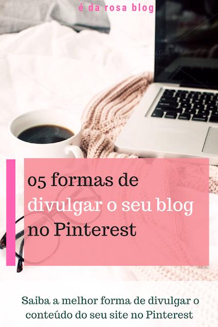 Blog profissional no pinterest