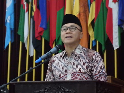 chief of house of representative of indonesia zulkifli hasan