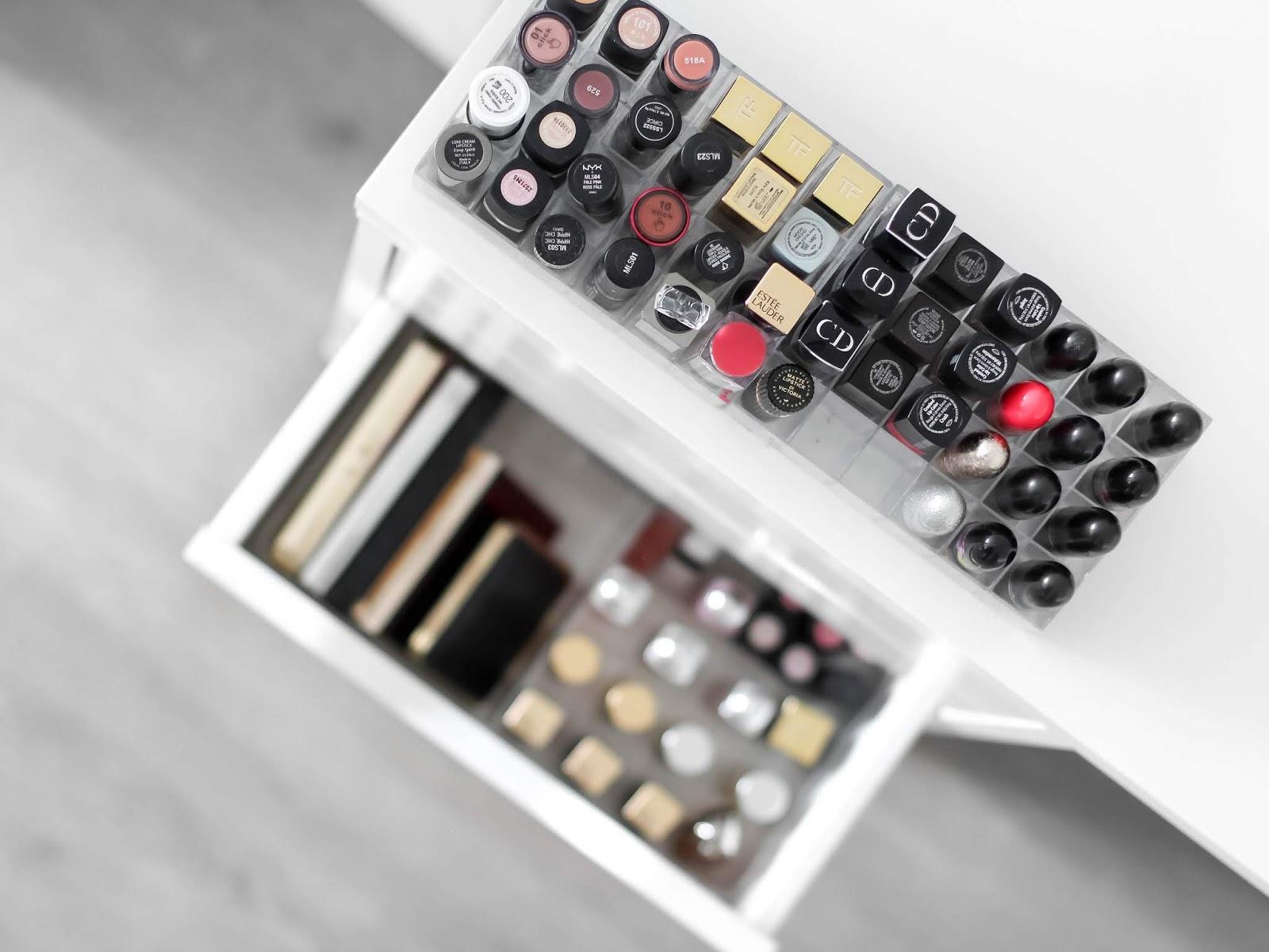 rtěnky paletky blogerka kosmeticka sbirka