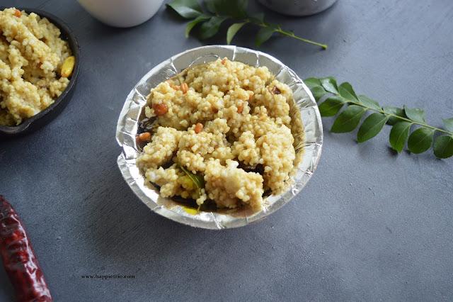 Varagu arisi Puliyodharai | Kodo Millet Tamarind Rice
