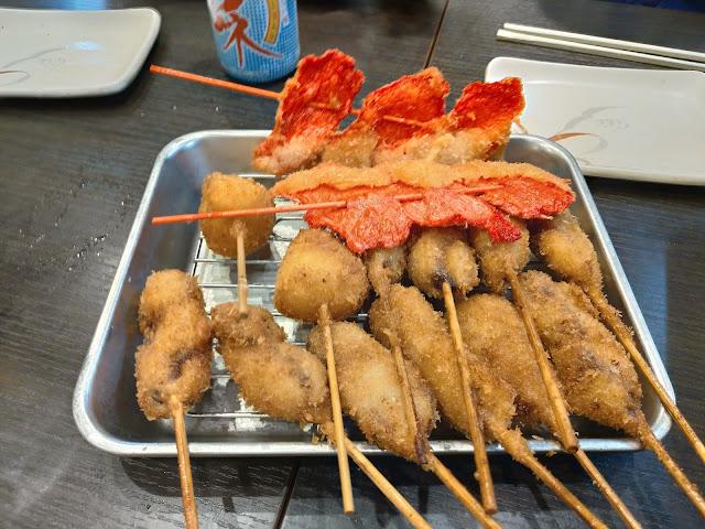 串かつ 串かつ・どて焼き壱番の元祖串かつがおすすめだったのでご紹介します!