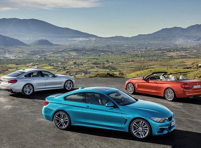 2018 BMW 4 Series Coupe, Convertible, and Gran Coupe Facelift