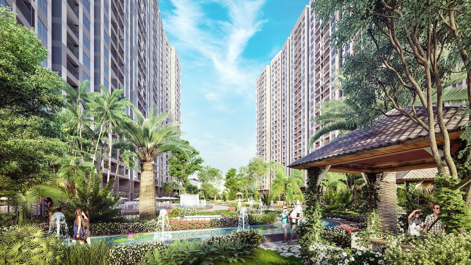 Phối cảnh Imperia Sky Garden Minh Khai