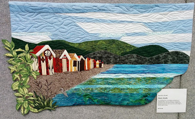 Creates Sew Slow: Creative Construction - Boat Sheds by Beverly Howe