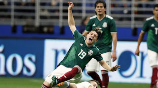 2018 FIFA World Cup Russia and Mexico's Soccer Team