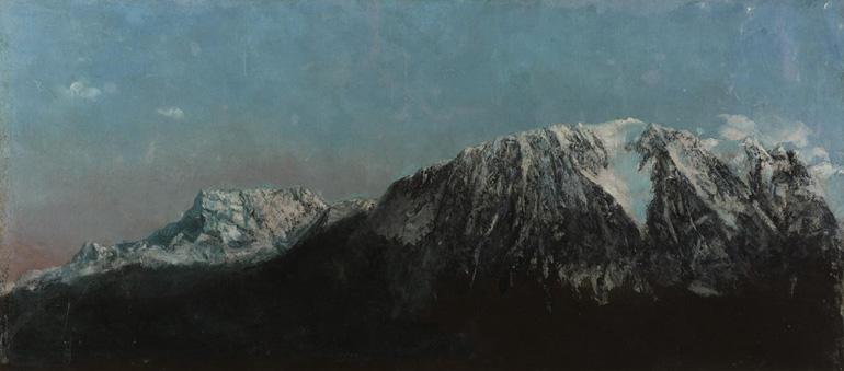 Panorama des Alpes de Gustave Courbet