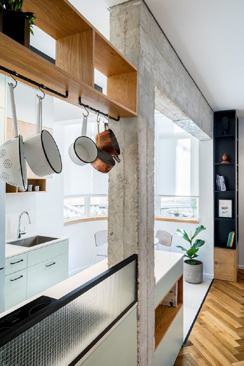 Cận cảnh thiết kế nội thất căn hộ 53m2 sang trọng và tinh tế - H3