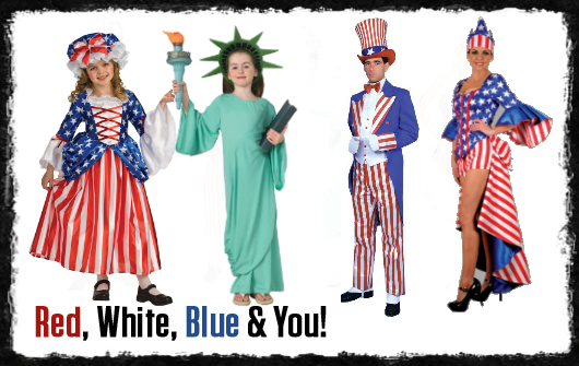 4th of July Costumes  sc 1 st  Annies Costumes & Annies Costumes: 4th of July Costumes
