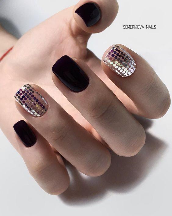gorgeous nail design for this season