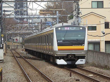南武線 快速 立川行き2 E233系