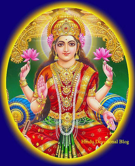 Navratri Goddess Lakshmi Picture