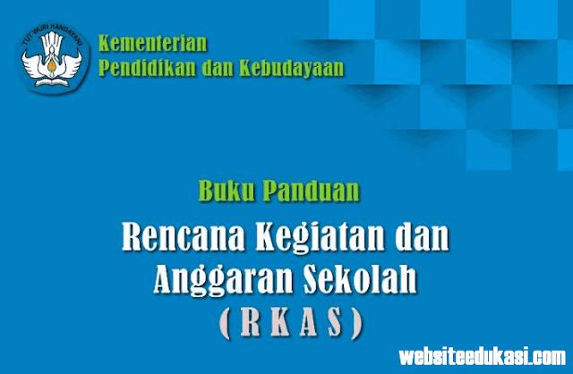 Buku Panduan Aplikasi RKAS BOS Tahun 2019