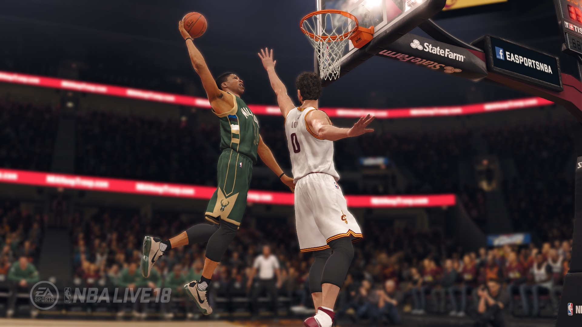 NBA Live 18 Basketball Wallpaper